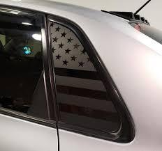American Flag Side Window Decal For 08 14 Wrx Sti Sedan Rakkasan Motorsports
