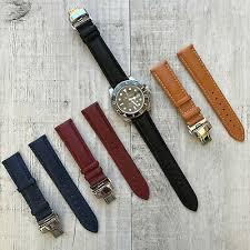 rolex tissot leather watch strap band