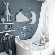 Best Offer D920 3pcs Set Moon Star Wall Decor Ins Nordic Style Cotton Cloud Ornaments Kids Room Decorations Wall Stickers Photography Props Cicig Co