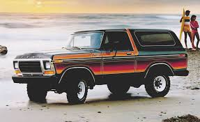 1978 1979 Ford Bronco Xlt Free Wheeling Decals Stripes Kit