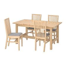 norden norrnÄs table and 4 chairs ikea