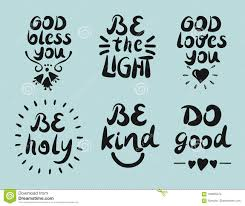 hand lettering quotes god bless you be the light do good