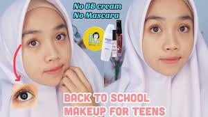 makeup ke sekolah untuk remaja back