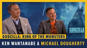 Ken Wantanabe & Michael Dougherty Talk GODZILLA: KING OF THE ...