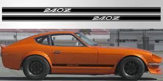 Datsun 240 Z Triple Stripe Vinyl Decal Stripe Garage