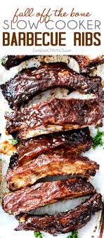 slow cooker barbecue ribs video