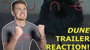 Dune Trailer REACTION! - YouTube