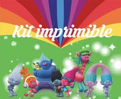 Trolls Diseno Kit De Cumpleanos Imprimibles Personalizados 380