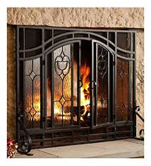 glass panel fireplace screen glasses blog