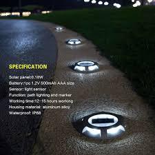 1pc solar garden lights durable sensor