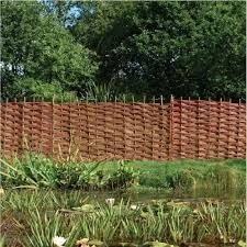 Willow Fencing Hurdle 0 9m Wooden Supplies