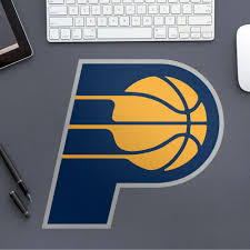 Fathead Indiana Pacers Logo Large Officially Licensed Nba Removable Wall Decal Walmart Com Walmart Com
