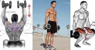 4 day upper lower dumbbell workout