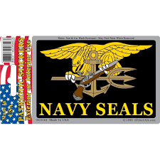 Shop Us Navy Seal Trident Patriotic Car Decal 3 By 4 Inches Overstock 17956659