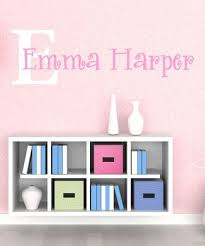 White Light Pink Personalized Decal Zulily Kids Wall Decor Kids Wall Decals Contemporary Wall Decals