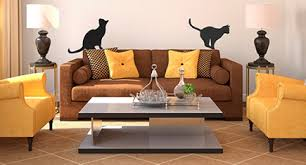Cat Silhouette Wall Decals Hauspanther