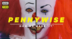pennywise makeup tutorial for