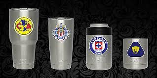 Yeti Cup Soccer Decal Sticker All Teams America Pumas Cruz Azul Chivas Liga Mx 4 65 Picclick Ca