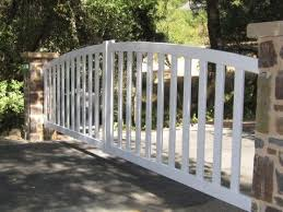 Arched Scalloped Steel Driveway Gates Arbor Fence Inc A Diamond Certified Company Driveway Gate Automatic Gates Driveways Gate