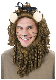 curly lion wig wizard of oz costumes