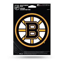 Boston Bruins Logo Die Cut Vinyl Sticker At Sticker Shoppe