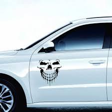 Reflective Skull Car Stickers 1pc Car Stickers Large Size 30cm 29cm 3d Sticker Car Decoration Sticker Door Window Car Decal Car Stickers Aliexpress