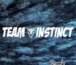 Team Instinct Pokemon Go Windshield Decal Dumbdecals Com