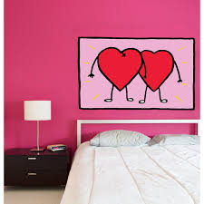 Shop Love Is Hearts Wall Decal Hearts Sticker Hearts Decal Overstock 32246153