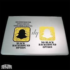 Snapchat Custom Scannable Qr Snapcode Vinyl Decal Stick N Peel Graphics