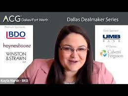 ACG DFW 2020 June Dallas Dealmakers Program - YouTube
