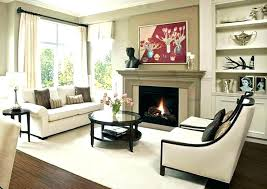living room ideas with no fireplace