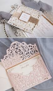 Fall In Love With Glittery And Sparkly Wedding Invitations
