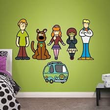 Scooby Doo Pop Art Collection Wall Decal Shop Fathead For Scooby Doo Decor Scooby Doo Mystery Incorporated Scooby Doo Scooby