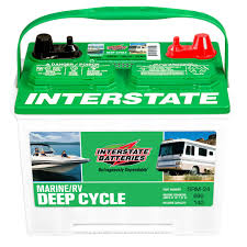 Interstate Batteries SRM-24 Marine/RV Deep Cycle Battery | Field ...