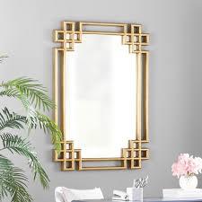 daisy rectangle oversized wall mirror
