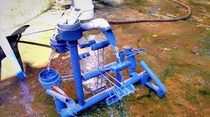 Làm guồng nước và thác nước từ ống nhựa PVC - YouTube