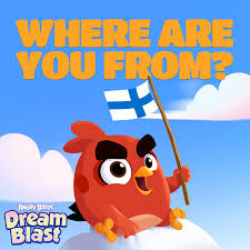 We'd love to hear where all you Dreamers... - Angry Birds Dream ...