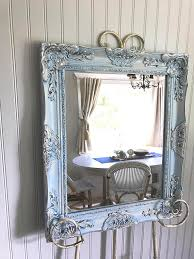 techniques to painting antique mirrors
