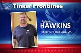 Tinker Frontlines: Meet Adam Hawkins > Tinker Air Force Base > Article  Display