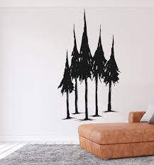 Millwood Pines Pine Trees Vinyl Wall Decal Wayfair