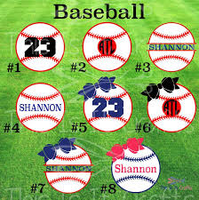 Baseball Decal Personalized Baseball Decal Sports Decal Etsy Team Gifts Sports Decals Personalized Decals