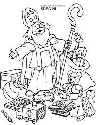 Sinterklaas Knutselen Sinterklaas Kleurplaten Sinterklaas Met