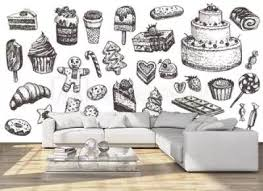 6 280 Cupcake Dessert Candy Lollipop Wall Murals Canvas Prints Stickers Wallsheaven