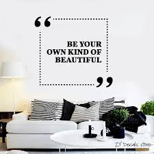 Inspiration Quotes Wall Decals Girl Room Beauty Salon Wall Stickers Living Room Home Interior Design Art Mural Wall Decor L386 Wall Decor Decoration Designquote Wall Decal Aliexpress