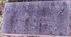 Myra Marshall Wilson (1906-Unknown) - Find A Grave Memorial