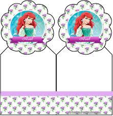 Kit De Princesa Ariel Para Descargar Gratis Kits Para Imprimir