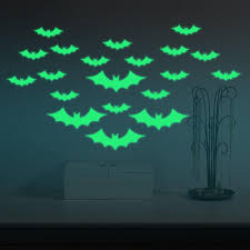 Creative Bats Skin Wall Sticker Window Decals Halloween Decoration Glow In The Dark Home Decor Removable Art Mural Personalized Wall Stickers Planet Wall Stickers From Bigmango 1 8 Dhgate Com