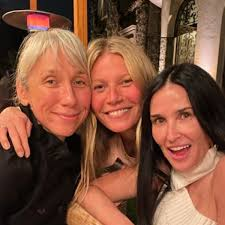 gwyneth paltrow s goop no makeup party