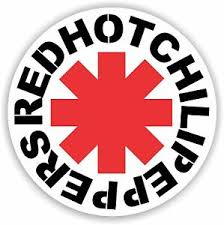 Red Hot Chili Peppers Vinyl Sticker Decal Full Colour Band Logo Ebay