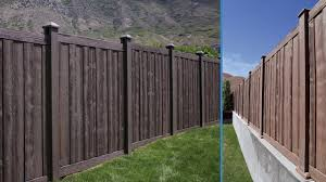 Bufftech Sherwood Vinyl Fence Panels Hoover Fence Co